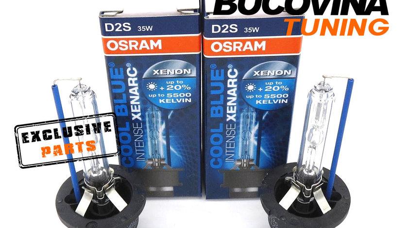 SET 2 BECURI XENON D2S OSRAM COOL BLUE INTENSE XENARC - 260 LEI SETUL