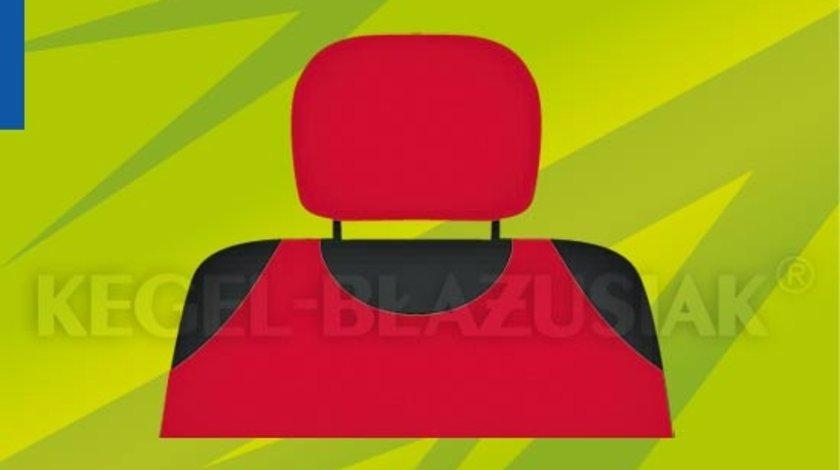 Set 2 buc huse tetiera culoare rosie model universal compatibil la 99% din autoturisme