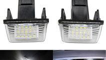Set 2 buc Lampi număr Peugeot 206 207 407 306 Cit...