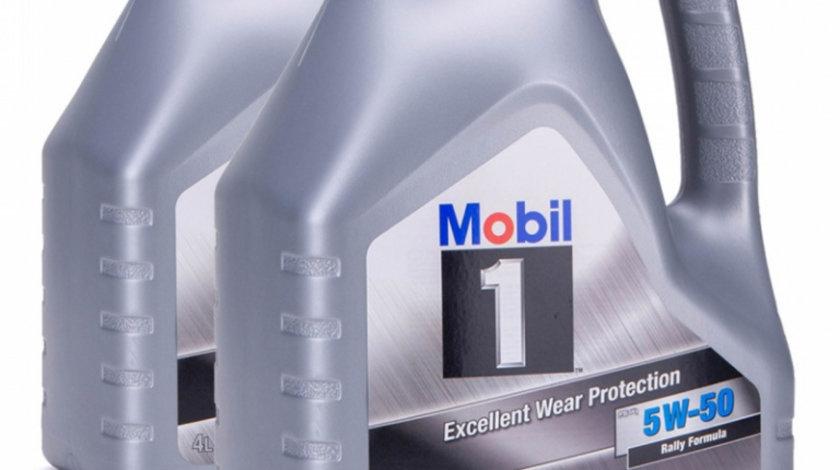 Set 2 Buc Ulei motor Mobil Excellent Wear Protection FS X1 5W-50 4L