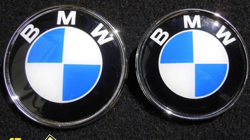 Set 2 embleme BMW fata si spate - Livrare cu verificare colet