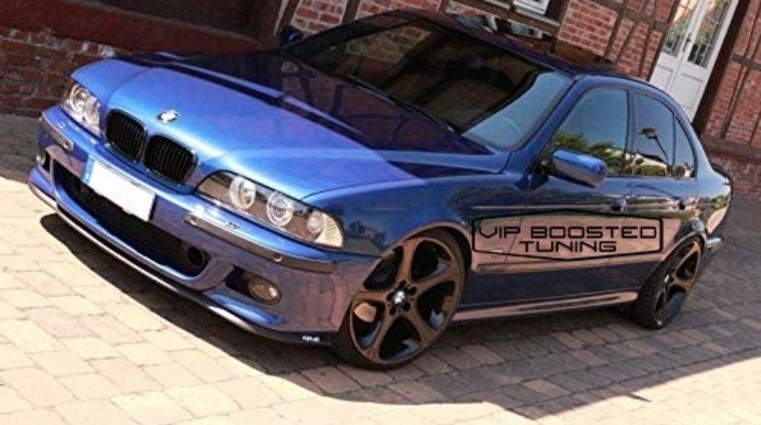 Set 2 Faruri Angel Eyes BMW Seria 5 E39 (1996-2003) Facelift LCI Design Negre