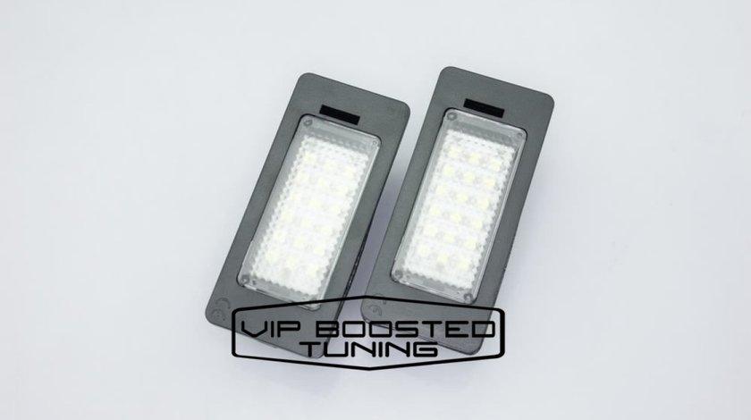 Set 2 lampi numar led canbus dedicate  AUDI A4 B8 5USI AVANT 2008-2012