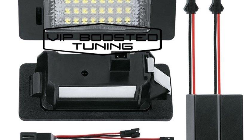 Set 2 lampi numar led canbus dedicate AUDI A5 2012+