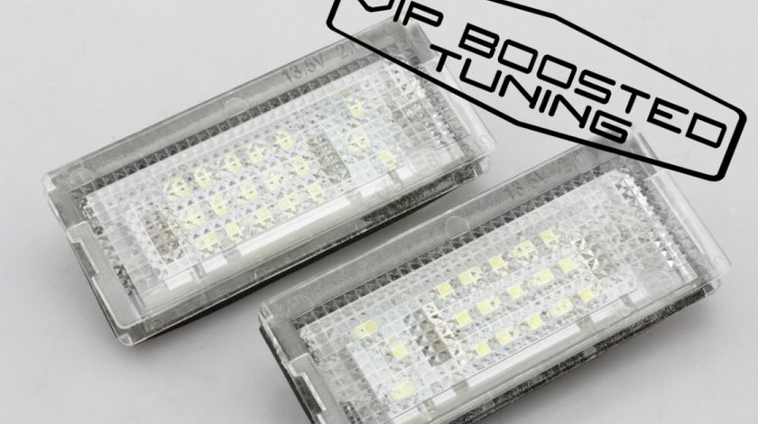 Set 2 lampi numar led canbus dedicate  BMW E46 2D Coupe facelift (2004-2006)