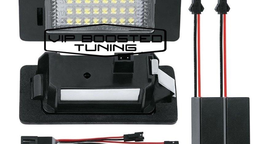 Set 2 lampi numar led canbus dedicate  VW TOURAN 2011+