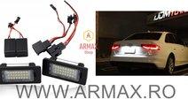 Set 2 lampi numar led dedicate AUDI,VW,SKODA,SEAT ...