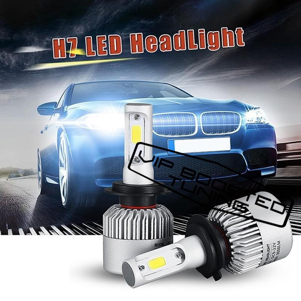 Set 2 leduri H7 Canbus pentru far auto putere 60W, luminozitate 4000 Lm, 12V
