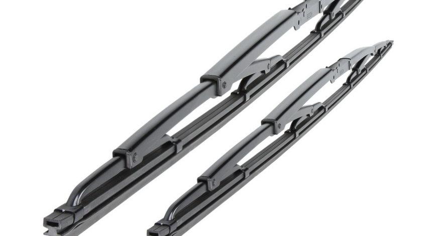 Set 2 stergatoare standard fata 543 Twin 600 530mm MERCEDES SPRINTER 2-T (901, 902), SPRINTER 3-T (903), SPRINTER 4-T (904), SPRINTER 5-T (905), SPRINTER (905); VOLVO S60 I, S80 I, V70 II dupa 1995