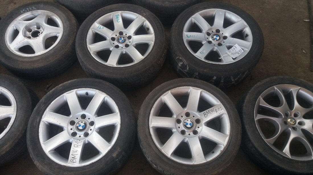 Set 263 - Jante aliaj BMW Seria 3 E46, ZR17, 5 x 120 - cod BMW-4A-26