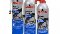 Set 3 Buc Nigrin Spray Reparat Anvelope 74074 500M...