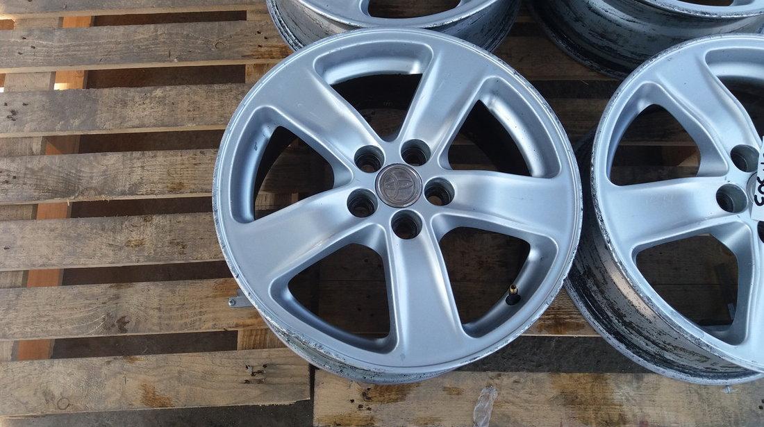 Set 303 - Jante aliaj Toyota Avensis, R16, 5 x 100 - cod TOY-4A-3