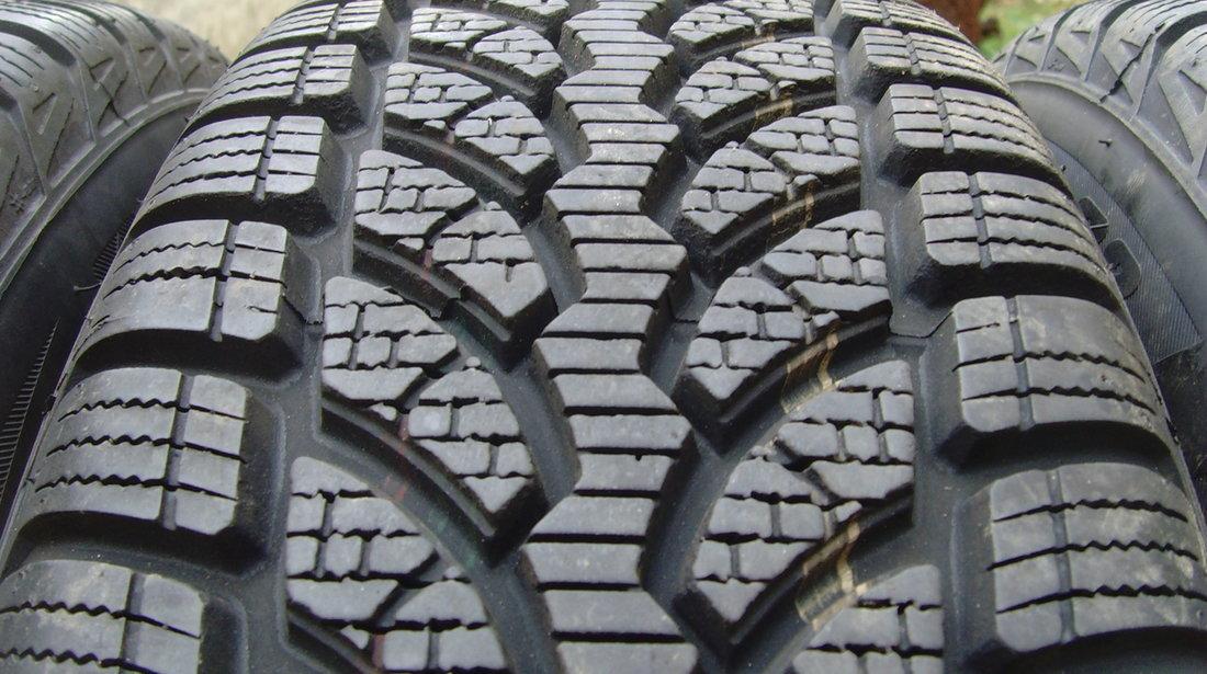 Set 4 anvelope de iarna ca Noi 195/65 R15 91H Bridgestone Blizzak  LM32 din2014,profil 8,5mm