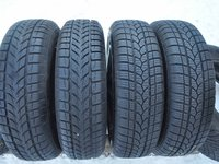 SET 4 Anvelope Iarna 155/70 R13 RIKEN + PLATIN WINter + Jante Tabla FORD KA 4,5x13 ET:37,5 4x108x63