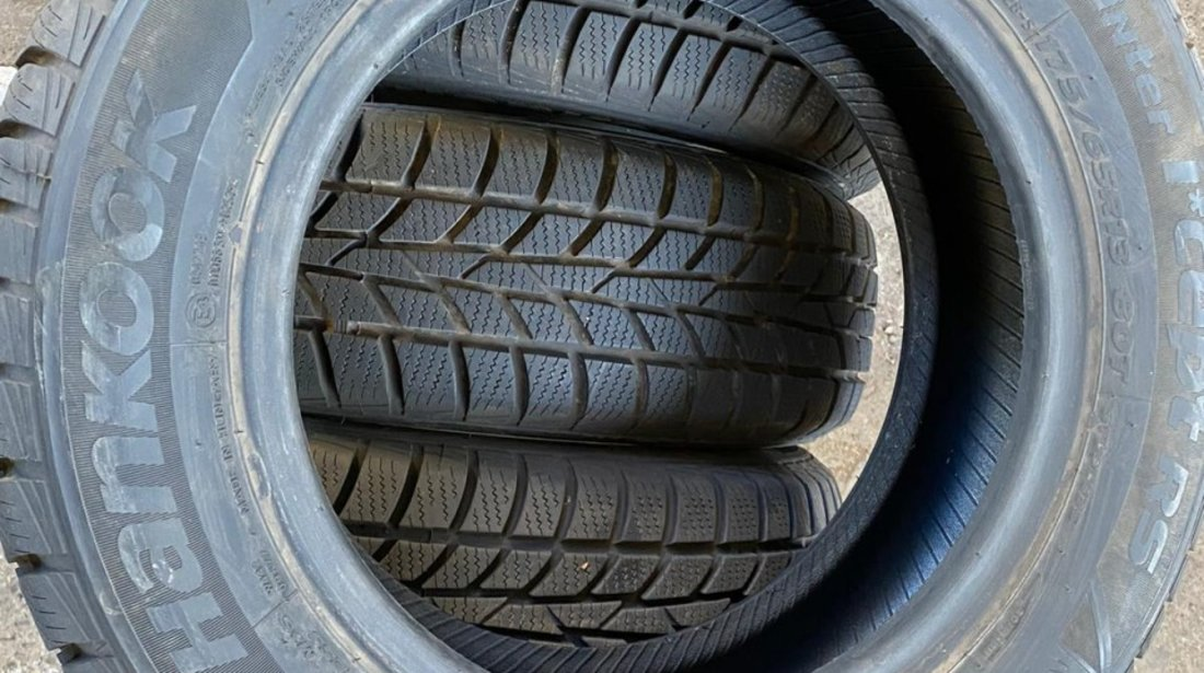 SET 4 Anvelope Iarna 175/65 R13 HANKOOK Winter I Cept RS 80T
