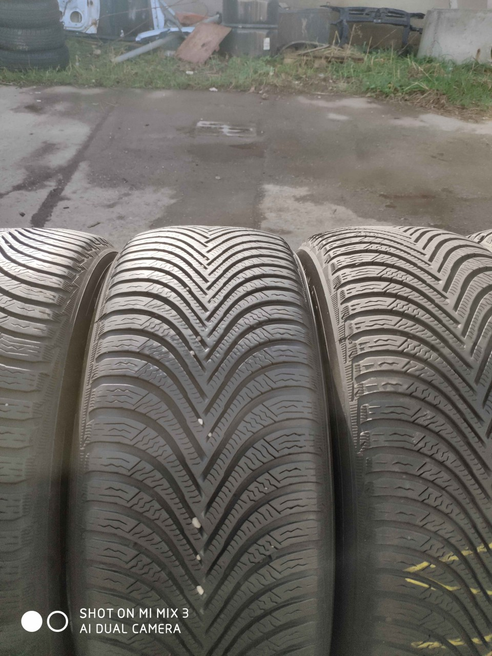 SET 4 Anvelope Iarna 225/55 R17 MICHELIN ALPIN 5 101V - XL