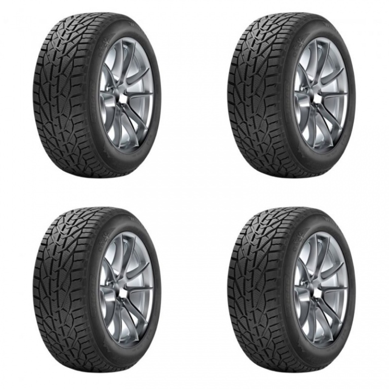 Set 4 Buc Anvelopa Iarna Tigar Winter 185/65 R15""