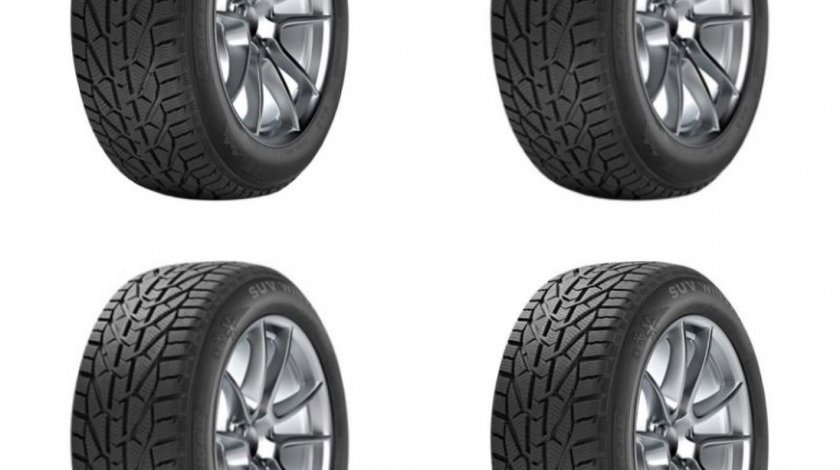 Set 4 Buc Anvelopa Iarna Tigar Winter 225/45 R17""