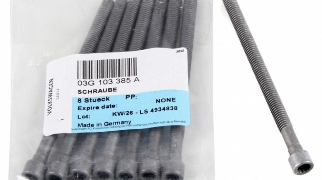 Set 4 Buc Kit Reparatie Injector Bosch 1 417 010 996 + Set 8 Buc Surub Fixare Injector Oe Volkswagen M6x88mm