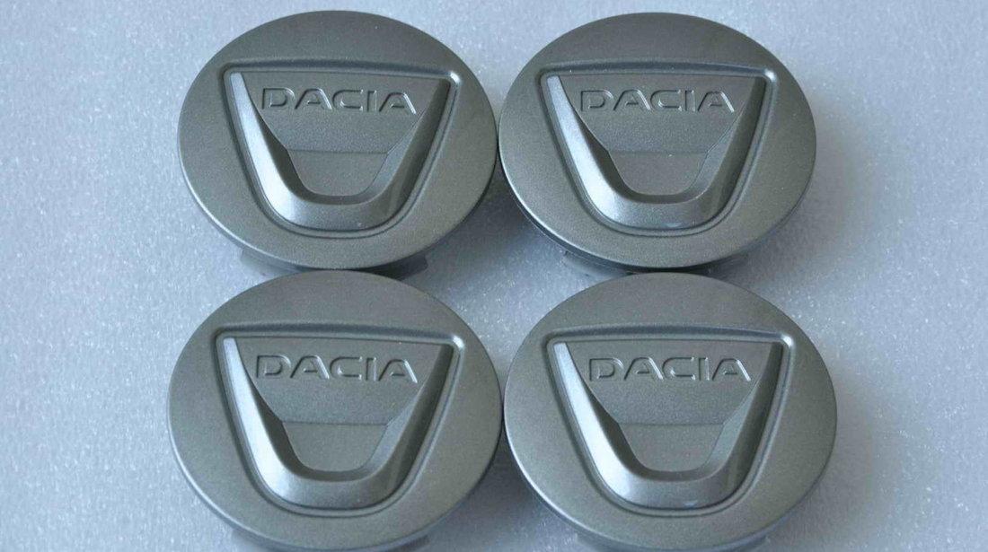 Set 4 Capace Noi Originale Jante Aliaj Dacia 57 mm 403156671R