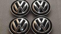 SET 4 CAPACE ORIGINALE NOI JANTE ALIAJ VW 5G060117...