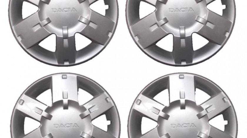 Set 4 capace roti 15inch originale dacia logan