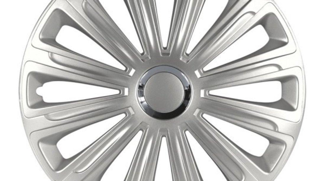 Set 4 Capace Roti Auto 14 Inch Versaco Trend RC, Argintiu