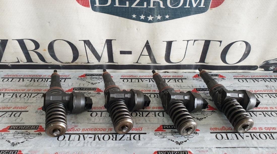 Set 4 injectoare Seat Cordoba 1.9 TDi 101 cai motor ATD cod piesa : 038130073AJ