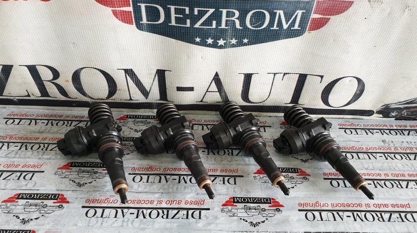 Set 4 injectoare Skoda Octavia Tour 1.9 TDi 101 cai motor ATD cod piesa : 038130073AJ