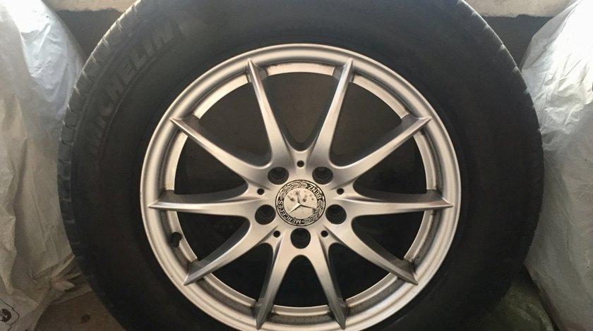 Set 4 jante Mercedes-Benz R17 cu Anvelope Michelin 235/65 R17 104H M+S