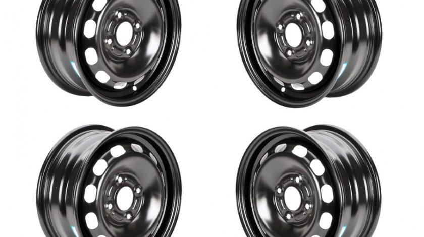 Set 4 Jante otel Mazda Mazda 2 2007-2015- 6Jx14 H2, 4x100x54, ET45
