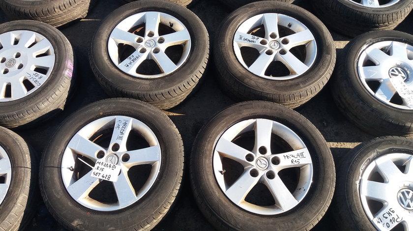 Set 428 - Jante aliaj Mazda 3 , R15, 5 x 114.3 - cod MAZ-4A-5