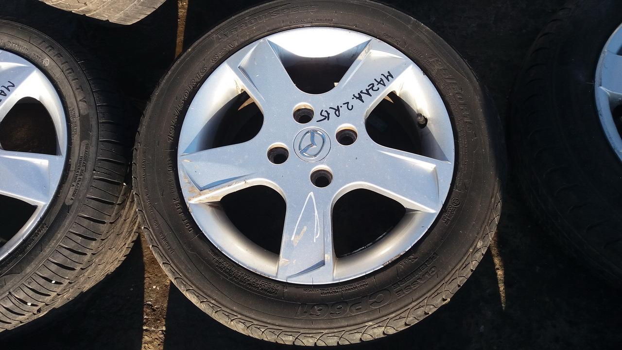 Set 435 - Jante aliaj Mazda 2, R15, 4 x 108 - cod MAZ-4A-6