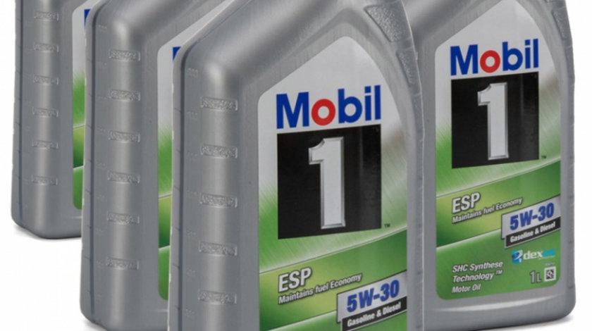 Set 5 Buc Ulei motor Mobil ESP Formula 5W-30 1L
