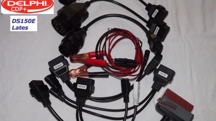 Set 8 cabluri adaptoare OBD2 Autocom Delphi tester multimarca turisme
