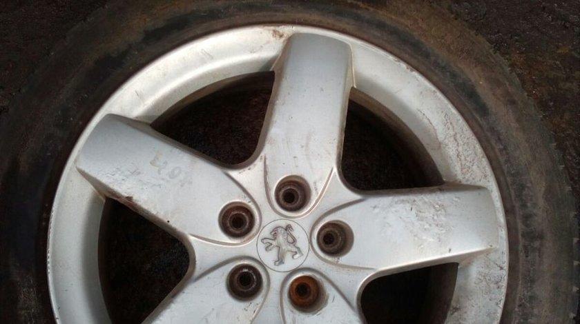 Set 8014 - Jante Peugeot 407, 215/55 R17 94W, 7Jx17 CH5-48, 5x108