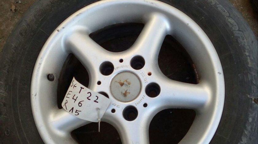 Set 8041 - Jante BMW Seria 3 (E46) , 205/65 R15 94H, 7Jx15H2, 5x120