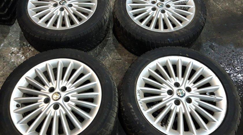 Set 8055- Jante aliaj Alfa Romeo 166, zr16 215/55, 6/1jx16ch-50, 5x100