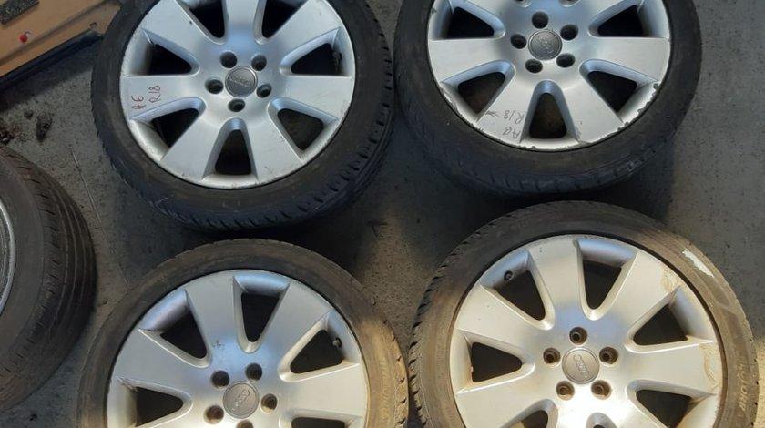 Set 8055 - Jante aliaj Audi A6 , 8jx18 et48 h2 , r18 245/40 , 5x112