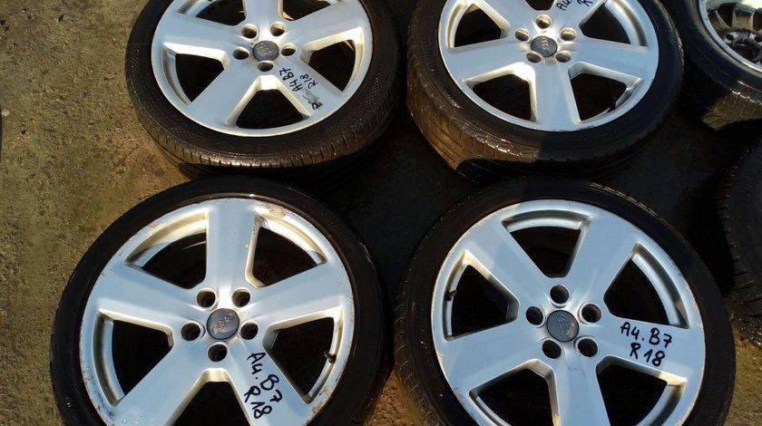 Set 8062 - Jante aliaj Audi A4, B7, 8.0jx18H2,Et43, 235/40/zr18, 5x112
