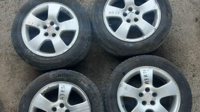 Set 8064 - Jante aliaj Audi A3 , 7Jx16 H2 ET44.5 , R16 205/55 , 5x100