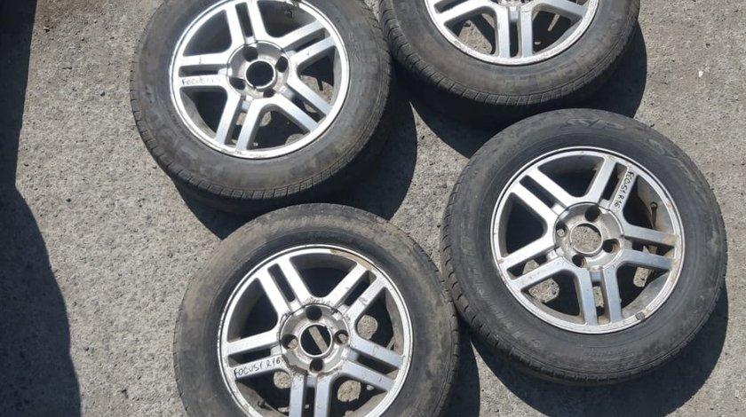 Set 8078 - Jante aliaj Ford Focus 1  , 6Jx15 ET52.5 , R15 195/6560 , 4x108