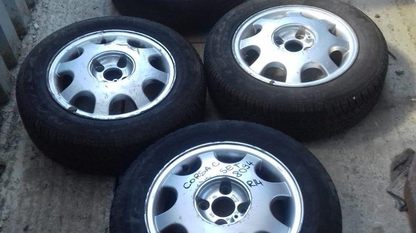 Set 8094 - Jante aliaj Opel Corsa C, 5 1.2jx14 - et49, 4x100, 175/65 R14