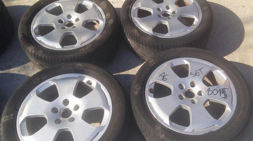Set 8115 - Jante aliaj Audi A6 C5, 6jx17h2 et49, r17 235/45, 5x112