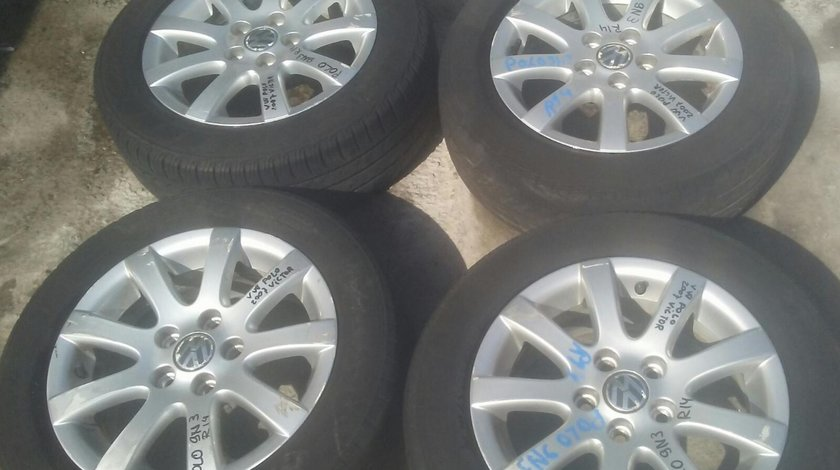 Set 8147 - Jante aliaj VW Polo 9n3, 185/60 R14, 6JX14H2, ET43, 5x100
