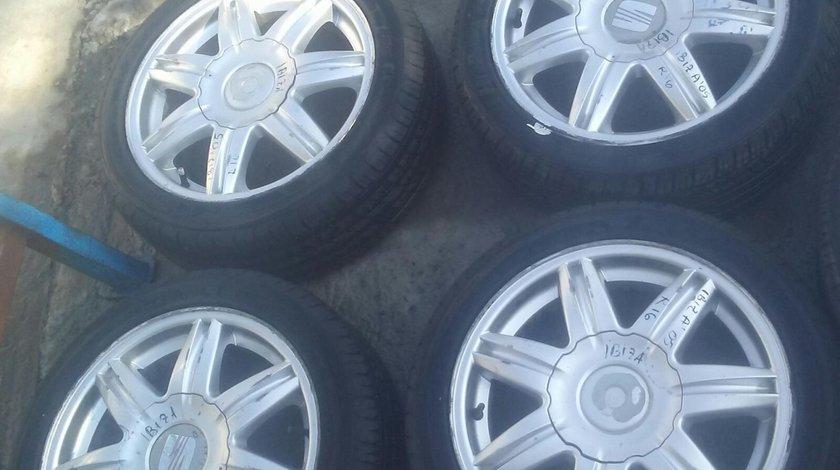Set 8150 - Jante aliaj Seat Ibiza, 205/45 r16, 6.5jx16h2 et43, 5x100
