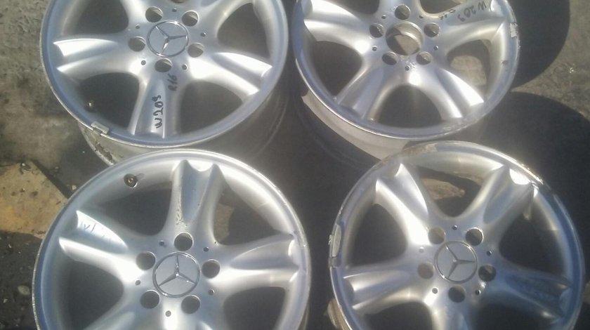 Set 8156 - Jante aliaj Mercedes Benz CLK w209, r16, 6jx16h2, et32, 5x112