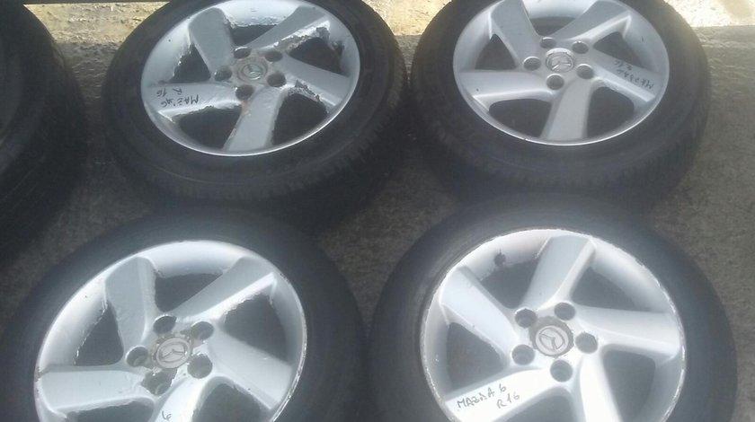 Set 8164 - Jante aliaj Mazda 6, 205/55 R16, 16x7jj, 5x114.3