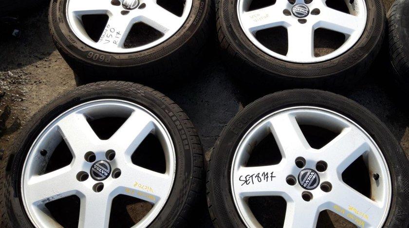 Set 8177 - Jante aliaj Volvo V50, 7jx17x52.5, 5x108, 205/50 Z R17