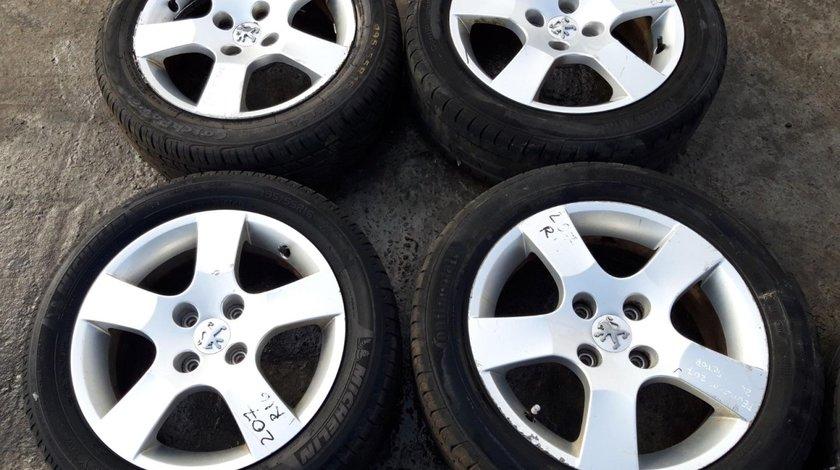 Set 8185 - Jante aliaj Peugeot 207, 195/55 R16, 6jx16ch4 27, 4x108